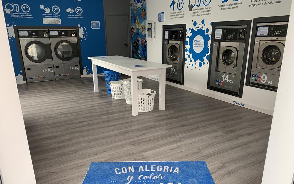 Nueva lavandería autoservicio Lavalux en Madrid