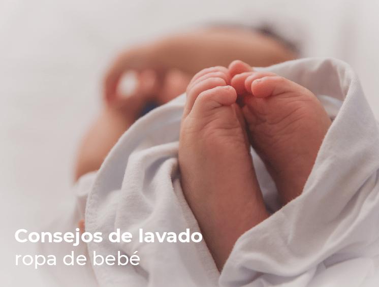 Cómo lavar y desinfectar la ropa de bebé