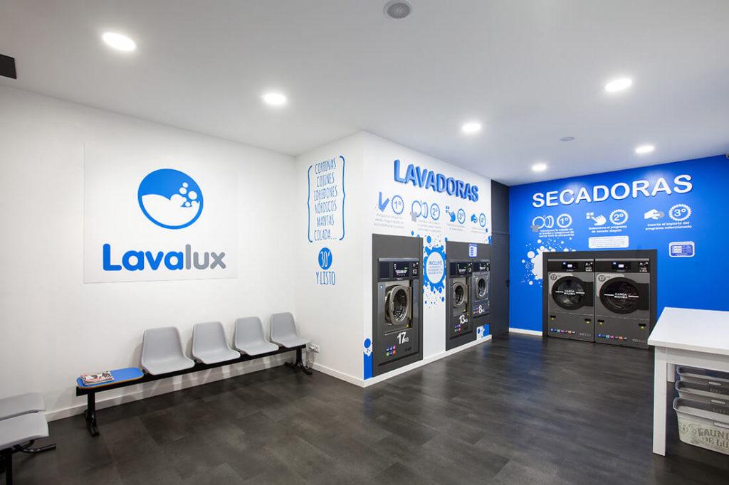 lavalux lavanderia autoservicio