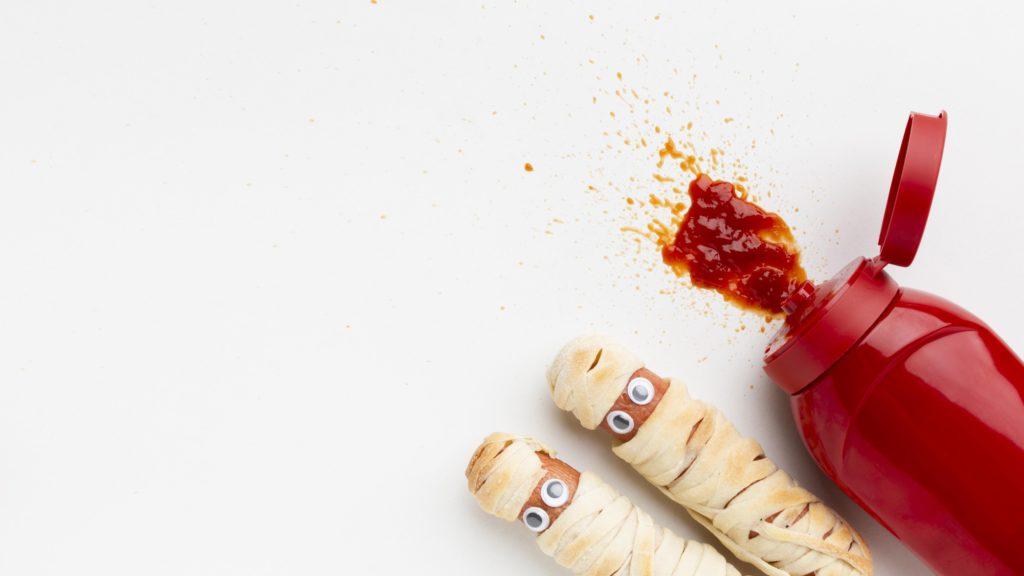 Cómo lavar manchas de kétchup, ketchup