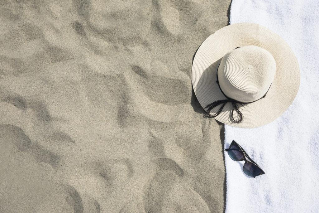 Turismo y lavandería automática, playa