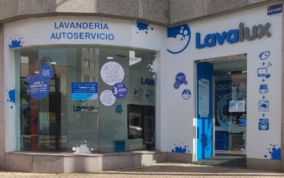 Lavandería autoservicio cerca: puntos Lavalux