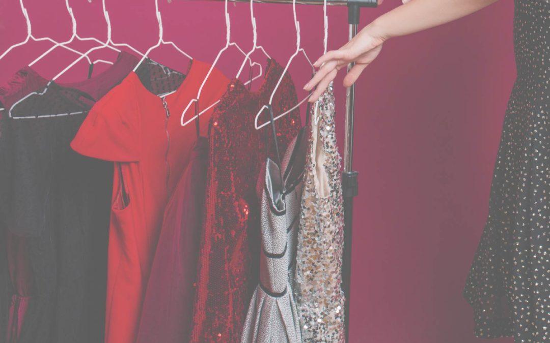 Cuidados para ropa de fiesta