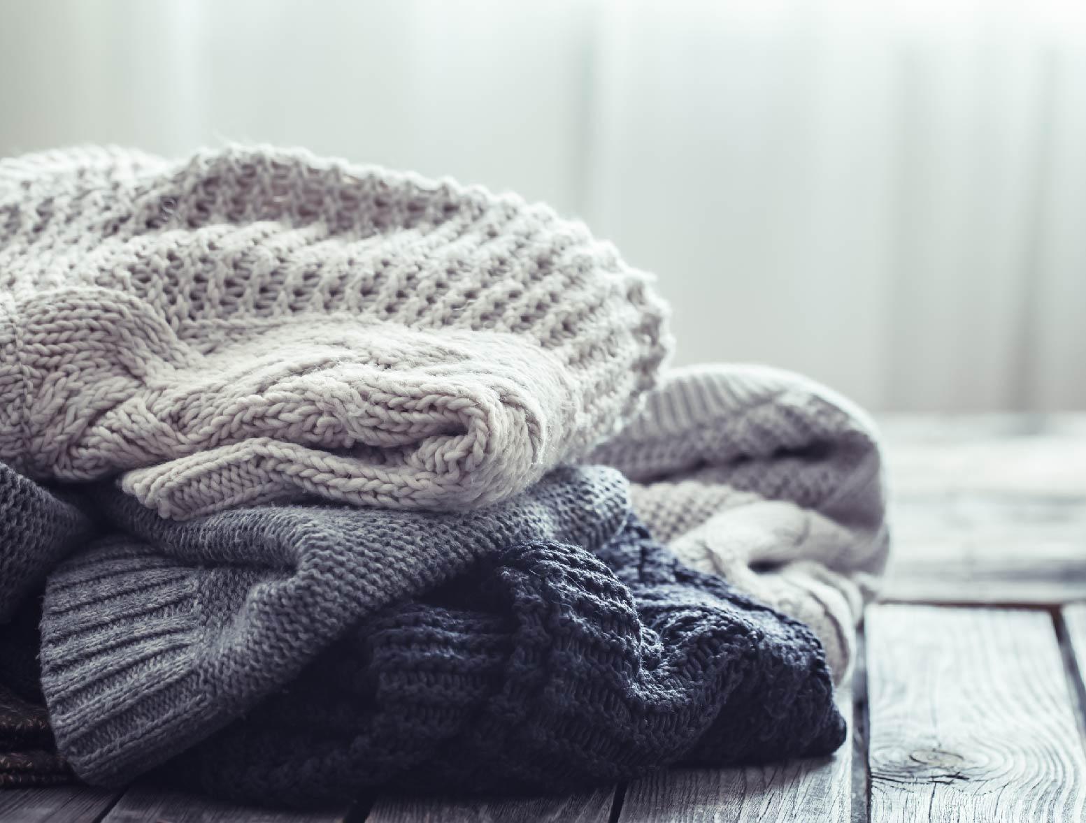 Cómo lavar jreseys de lana para que no se estropeen